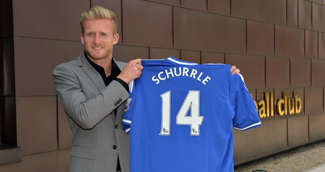 Schürrle será o camisa 14 (Foto: Chelsea FC)