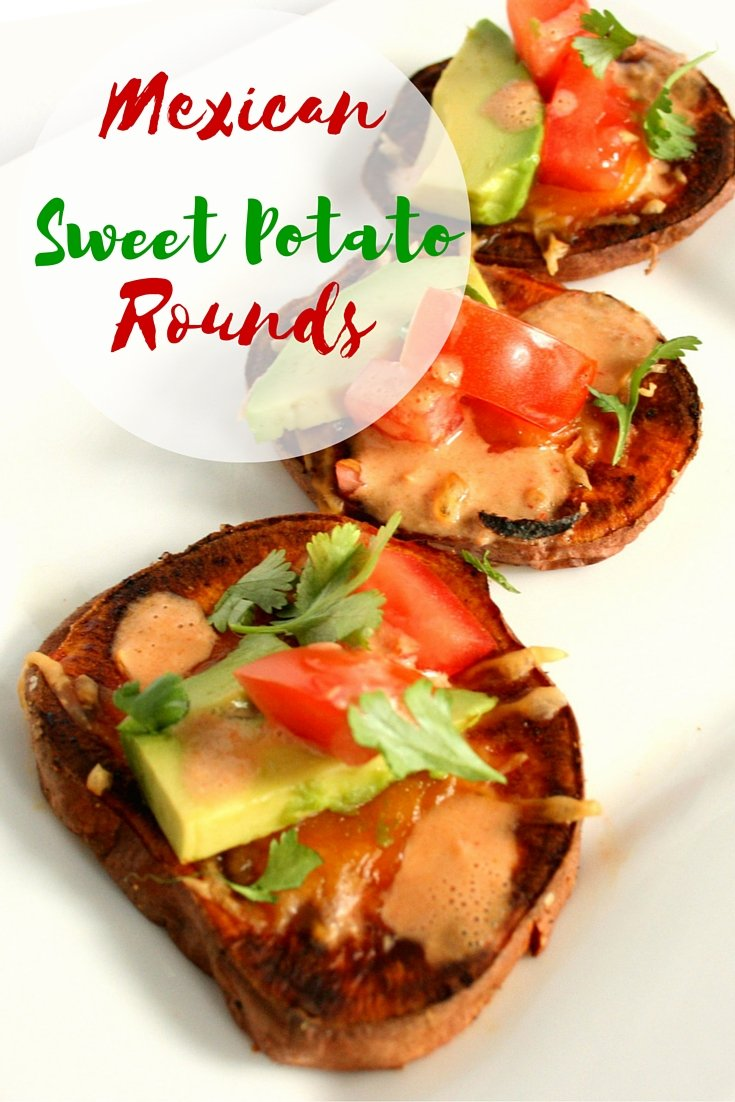 Mexican Sweet Potato Rounds - Chelsea's Choices