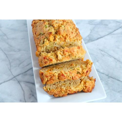 Medium Crop Of Zucchini Cheesy Bread