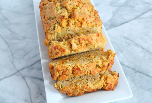 Medium Of Zucchini Cheesy Bread