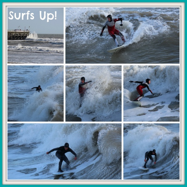 Surfing Bournemouth