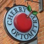 cherry-optometry sign