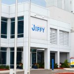 Visitor's entrance at JIFFY Mixes.