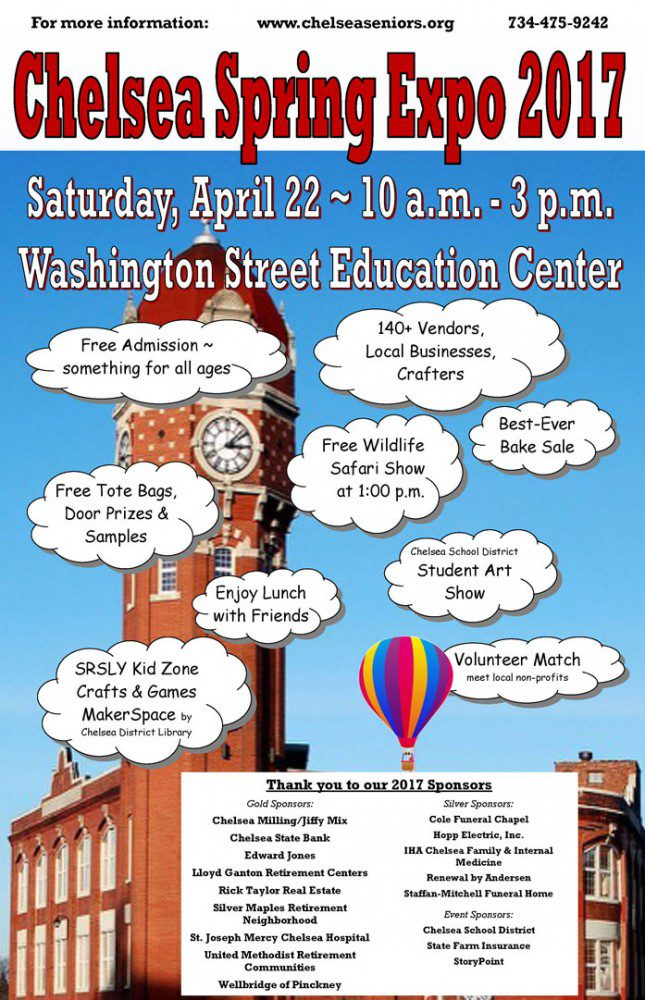 The 11th annual Chelsea Spring Expo will be held on April 22, from 10 a.m. to 3 p.m. at the Washington Street Education Center