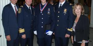 Chelsea Officer Paul McCarthy Receives Medal of Valor