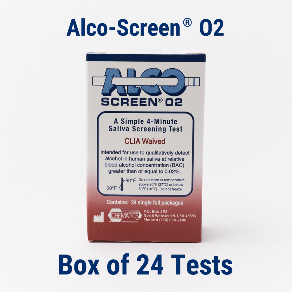 02 Box Alco Screen 02 Box Of 24 Tests