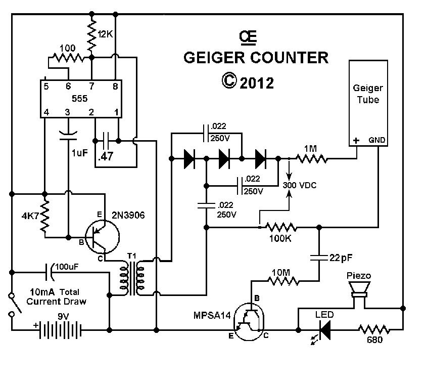 geiger counter schematic