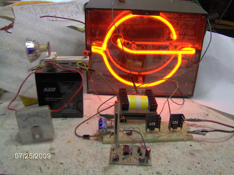 neon sign transformer wiring diagram a volt switching power supply