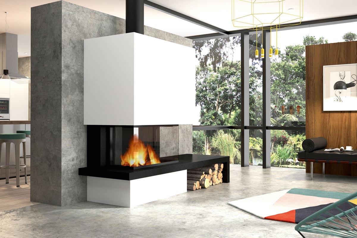 Cheminees Philippe Radiante 890 3v Fireplace Sydney Nsw
