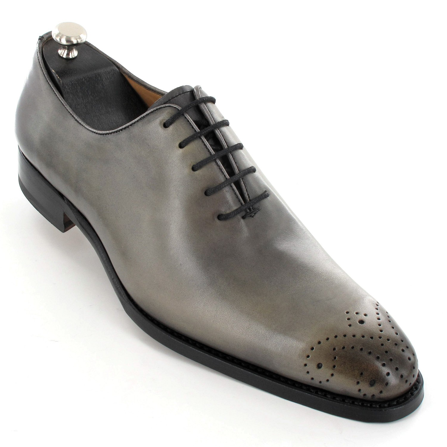 Chaussured Chaussures Grises De Luxe Pour Homme