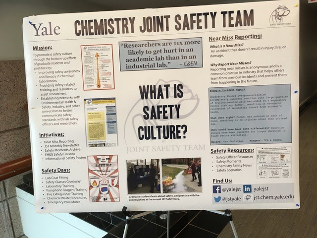 Chemistry Joint Safety Team Department of Chemistry