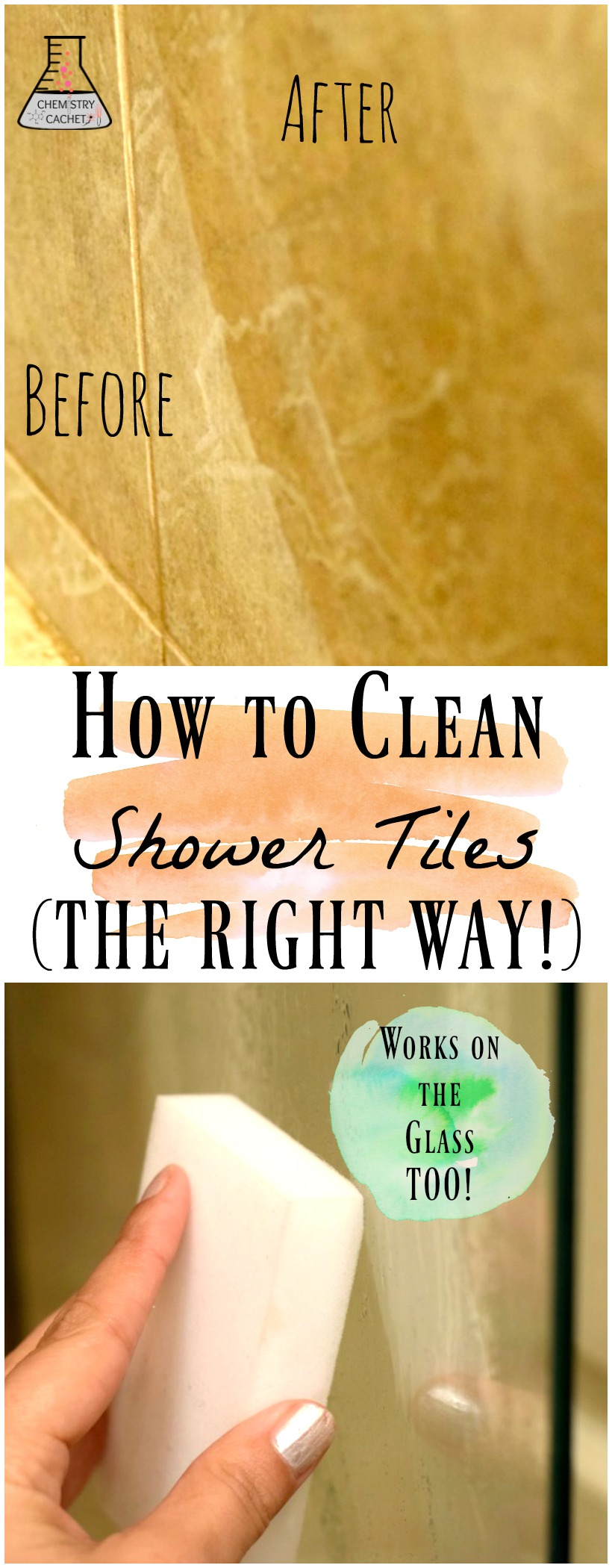How To Clean Shower Tile The Right Way Safe For Natural Stone Marble Regular Tile