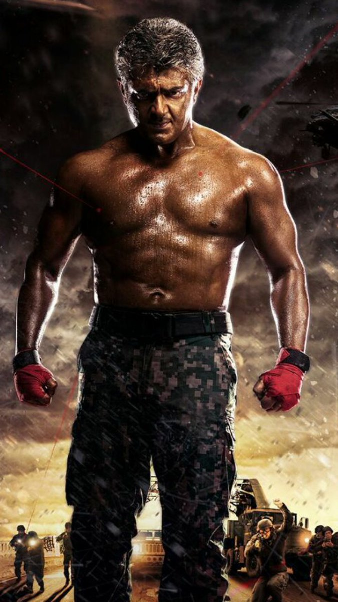 Ajith Kumar Hd Wallpaper Chennai365 Vivegam First Look Poster Chennai365