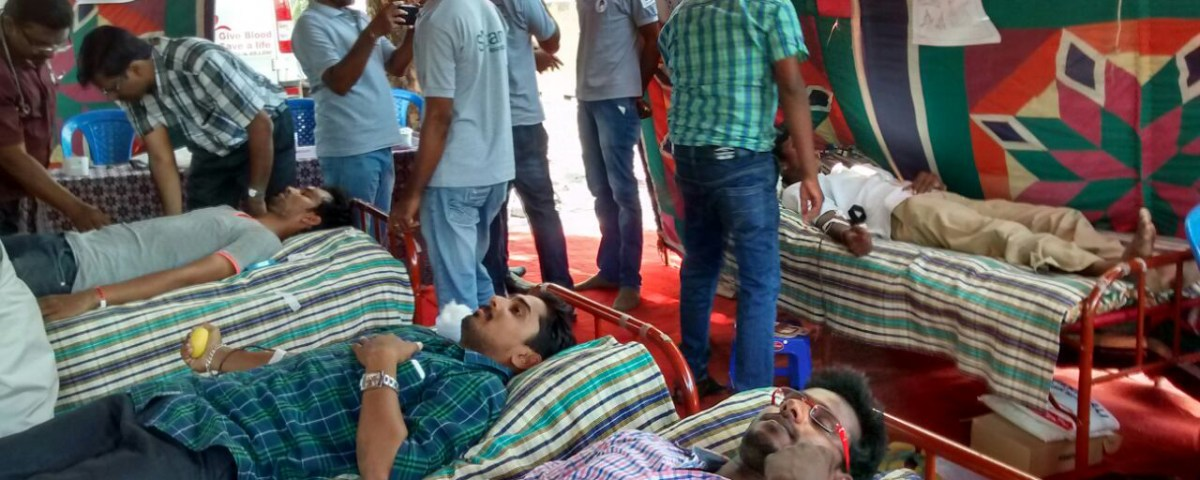 T-NAGAR TIMES Blood Donation Camp