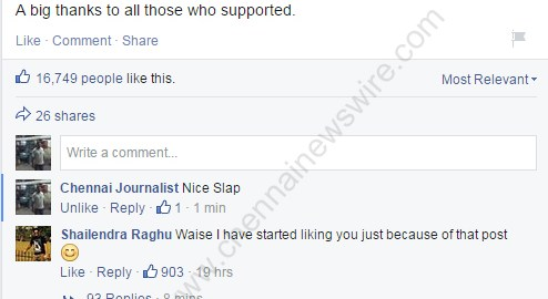 Vishakha Singh facebook Bounce Back