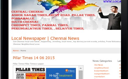 local chennai newspapers