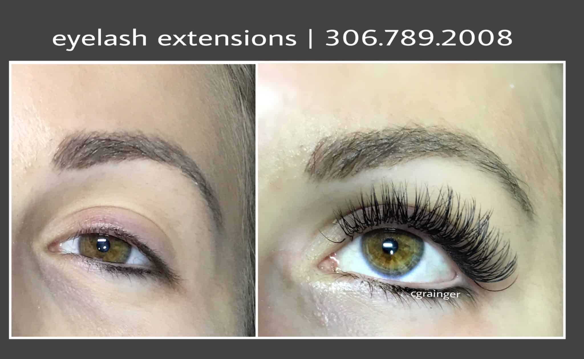Diy Eyelash Extensions Eyelash Extensions Before And After Pictures