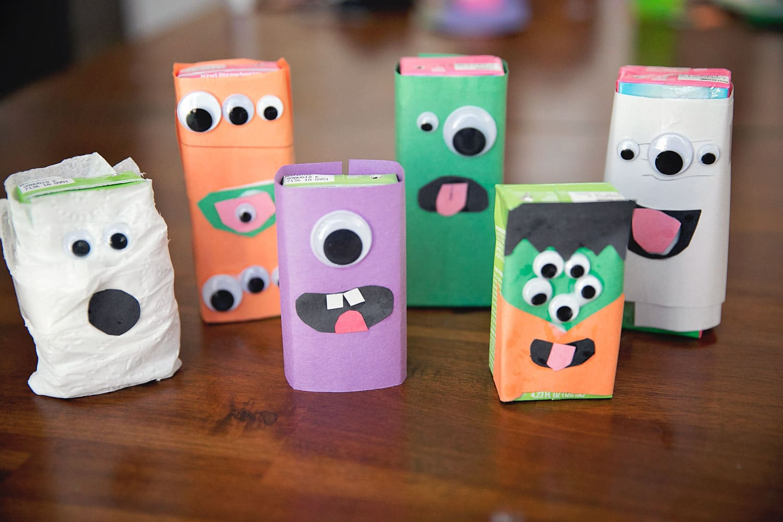 A Deliciously Spooky Halloween Craft Diy Juice Box