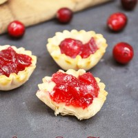 Cranberry Brie Tartlets Recipe