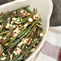 Sauteed French Green Beans with Toasted Almonds