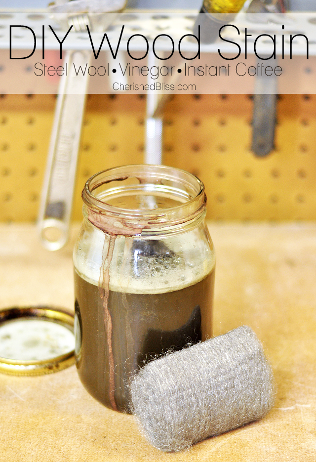 Diy Wood Stain Using Household Products - Cherished Bliss