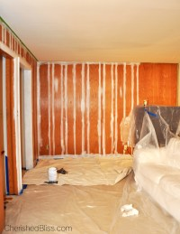 How to Paint Wood Paneling - Cherished Bliss