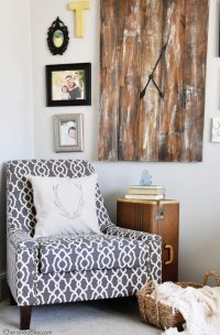 A Living Room Accent Chair Update - Cherished Bliss