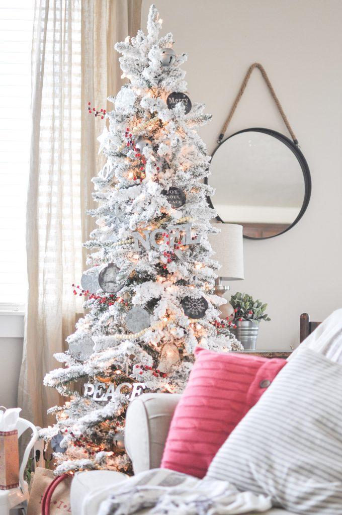 Modern Farmhouse Christmas Tree - Cherished Bliss - contemporary christmas decorations