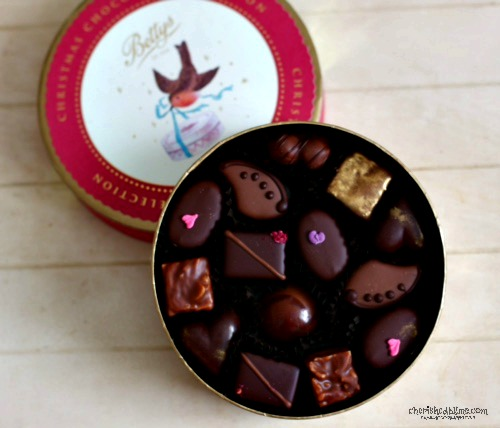 Christmas Chocolate Box from Bettys- Cherished By Me