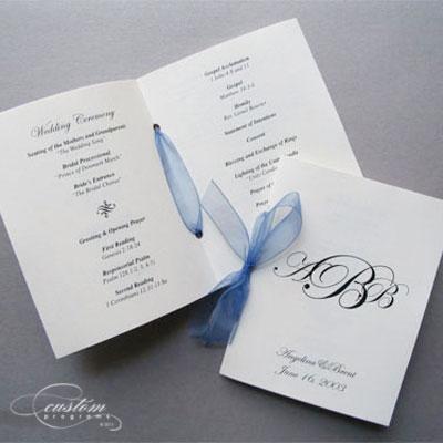 wedding programs booklet - Towerssconstruction