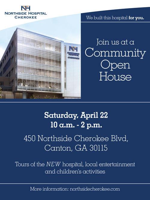 Community-Open-House-flyer - Cherokee Women\u0027s Health - open house flyer