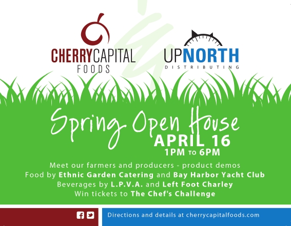 2012 Spring Open House is Here - Cherry Capital Foods - business open house invitation