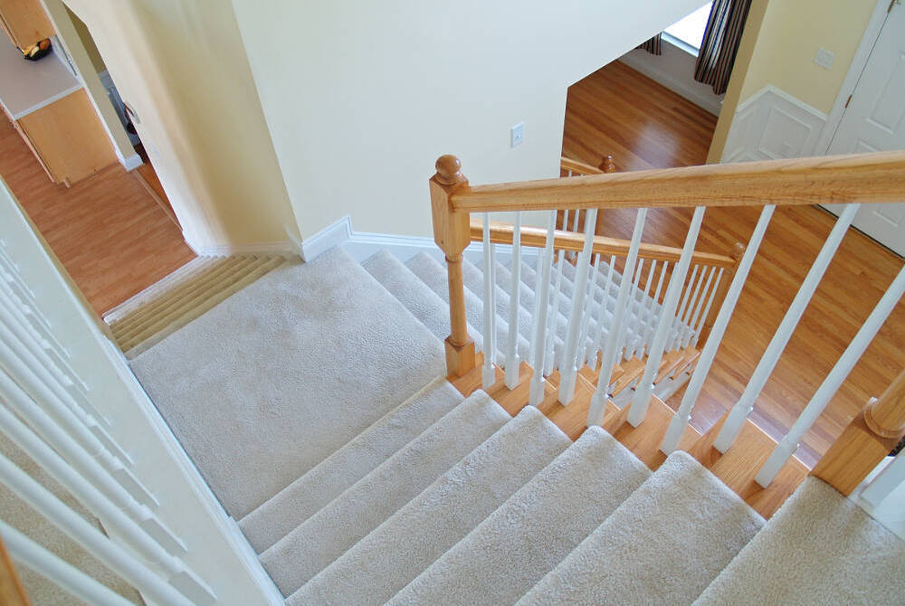 Stair Runners Whipping Taping And Coir Matting By Cherry