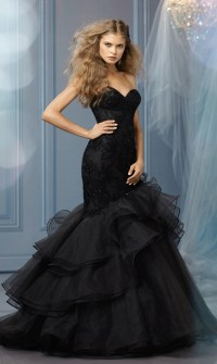 Black Wedding Dresses  Ideas & Inspiration for Sexy