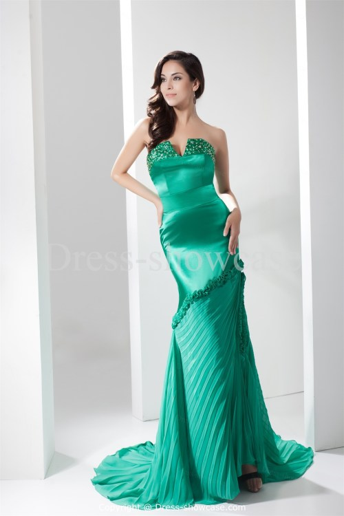 A gorgeous collection of green mermaid wedding dresses for Mermaid wedding dresses under 500