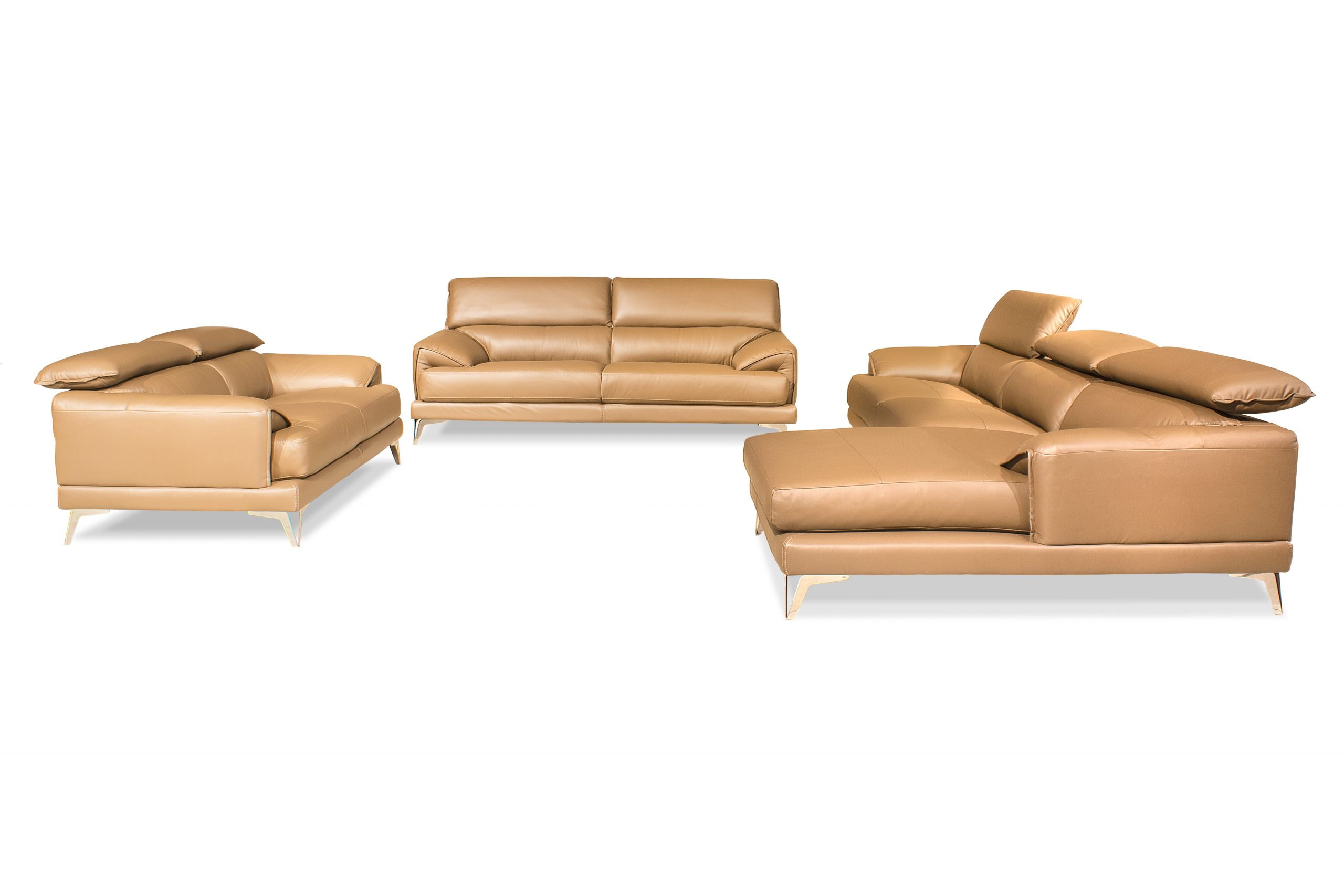 Buy Martin Leather Sofa Online At Best Prices In Bangalore