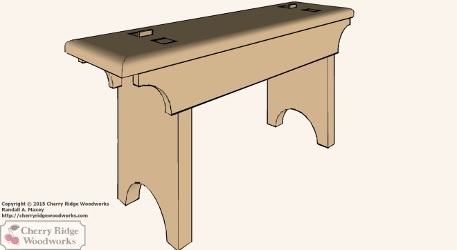 Shaker-Style Bench