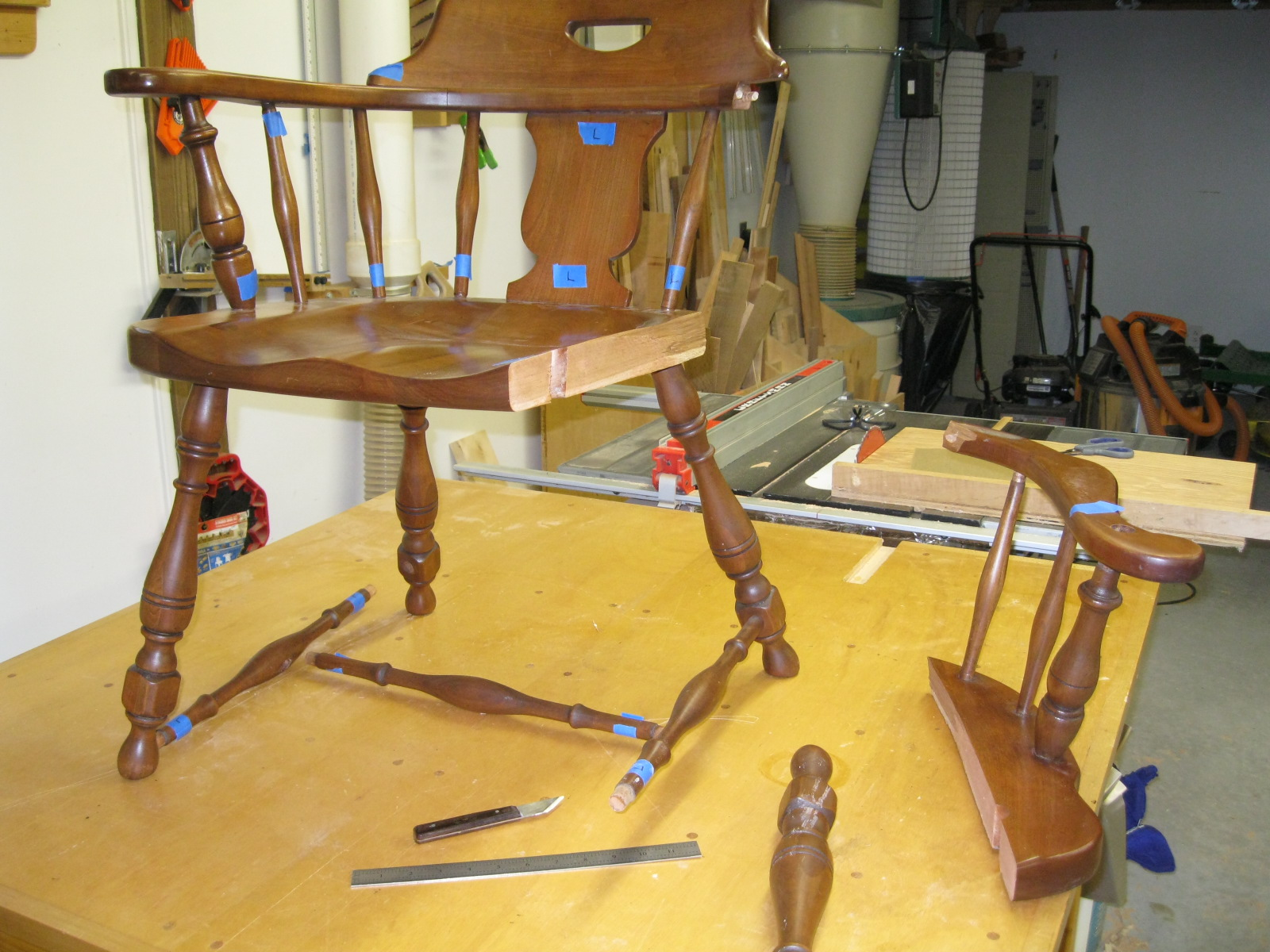 Chair Repair Chair Repair Part 1 Chesapeake Woodworking