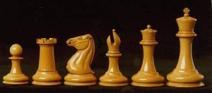 Jaques Morphy Style Chess set