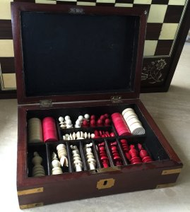 Jaques Lund Antique Chess