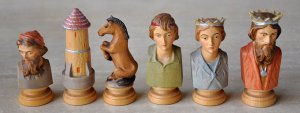 Colphi Figural Chessmen