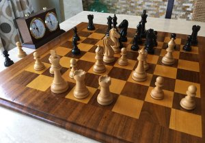 Ebony Proline Chess Pieces