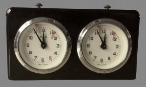 German Analog BHB Chess Clock