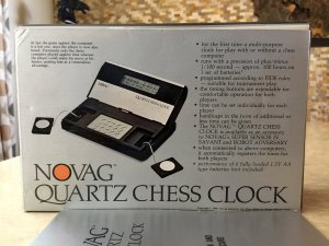 Novag Quartz Chess Clock