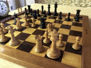 Antique Jaques Pre-Zukertort Chessmen
