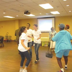 AmeriHealth Caritas interns planned this event and joyfully danced with the seniors