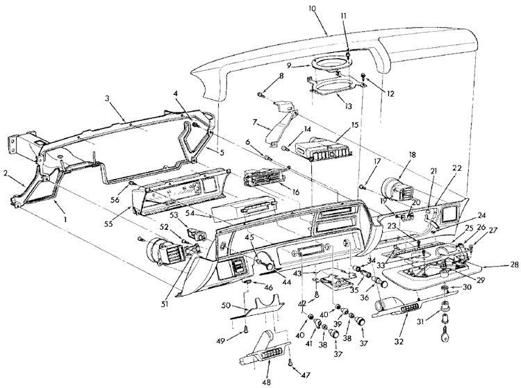 jeep cj7 steering column wiring