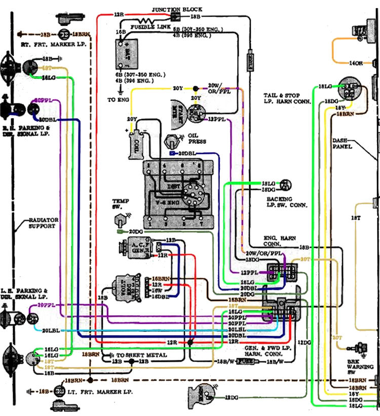 Wiring Diagram 64 Chevy Truck circuit diagram template