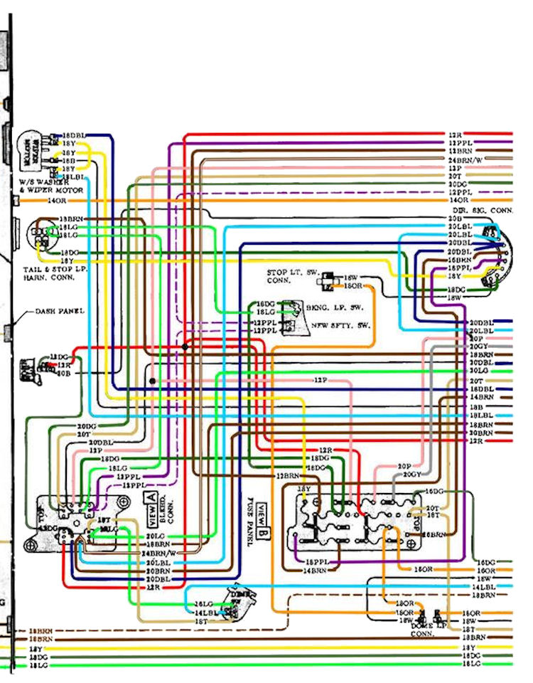 67 Chevelle Wiring Diagram - Wiring Diagram Progresif