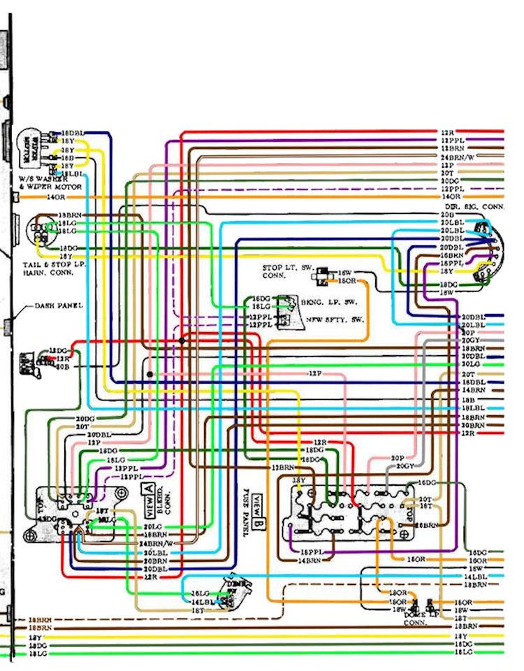 1972 chevelle wiring diagram pdf
